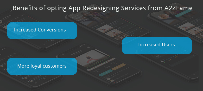 mobile app redesigning services