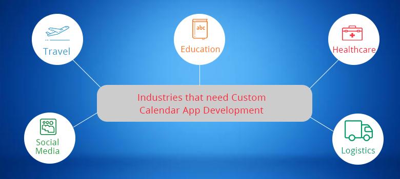 custom calendar app development