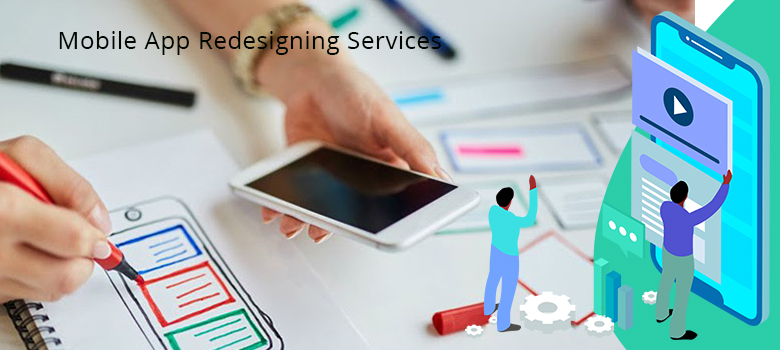 mobile application redesigning services